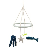 Under The Sea Animal Baby Mobile By Meri Meri